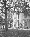 ZIETZ, Jim;  Robinson-Jordan House;  Black and white silver print